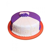 Shower Purple Cake - 1.5kg